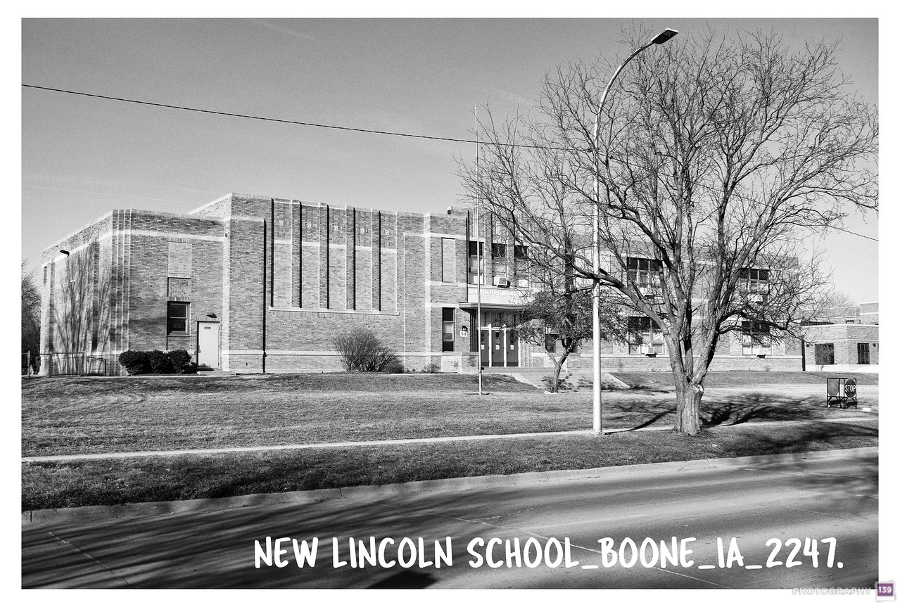 New Lincoln School - Boone IA - 2247 - Redux