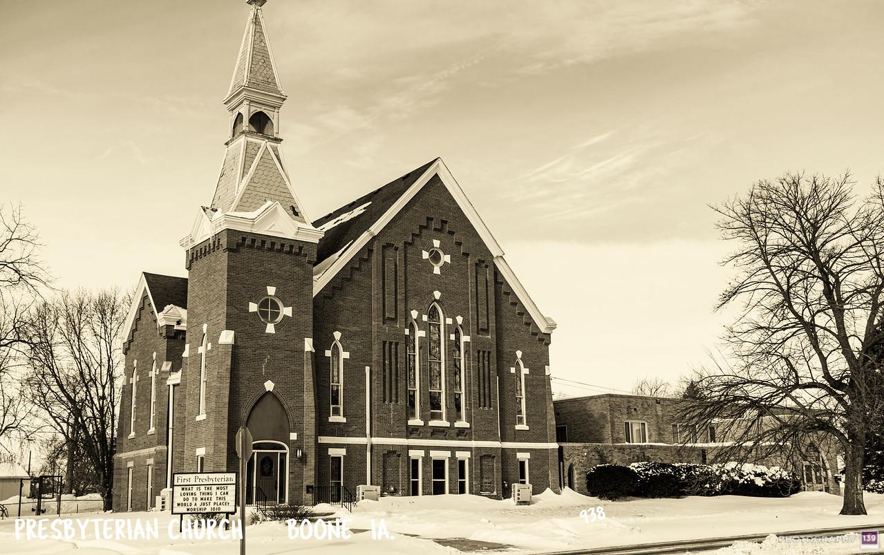 Presbyterian Church - Boone IA - 938 - Redux