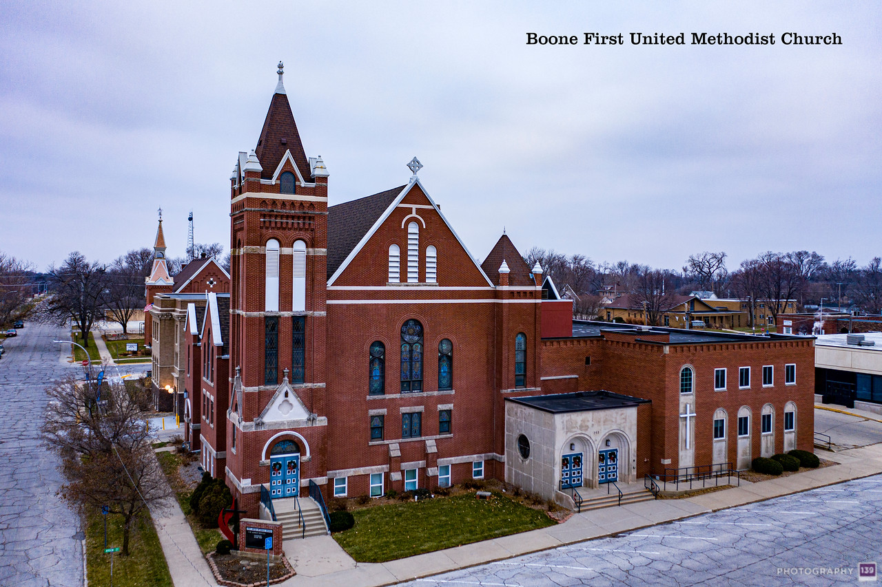 Boone First United Methodist Church - Modern Interpretation.