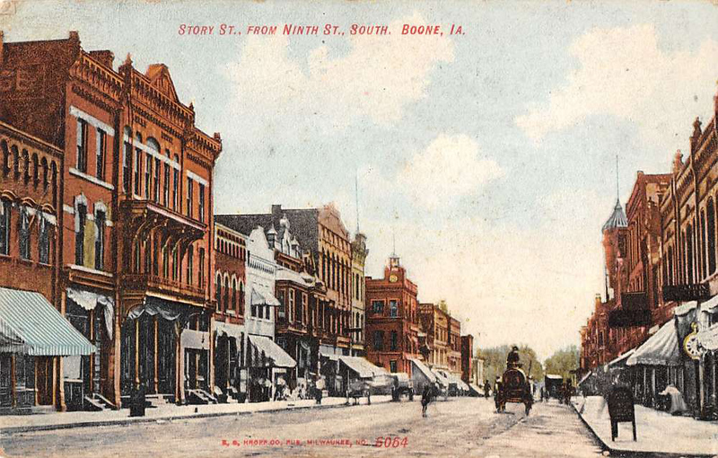 Story Street from Ninth South Original