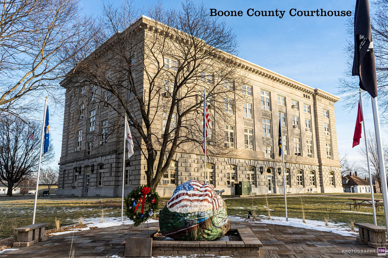 Boone County Courthouse - Modern Interpretation