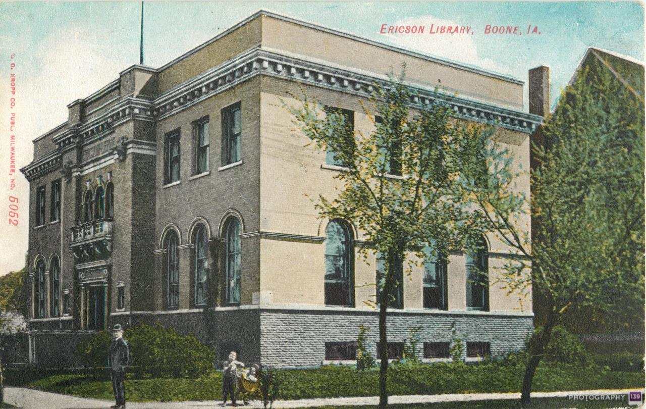 Ericson Library, Boone, IA. - Original