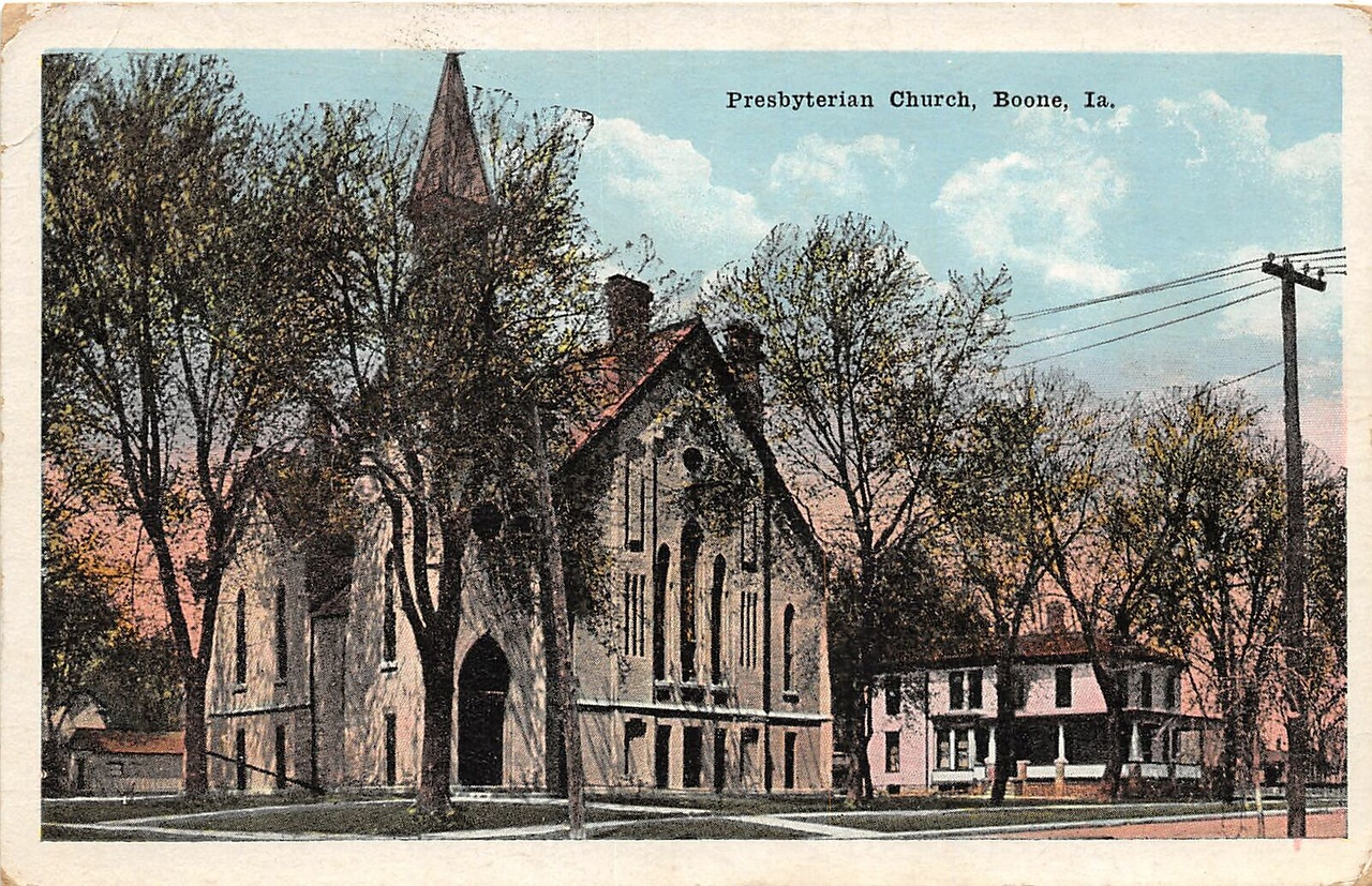 Presbyterian Church - Boone, Ia - Original