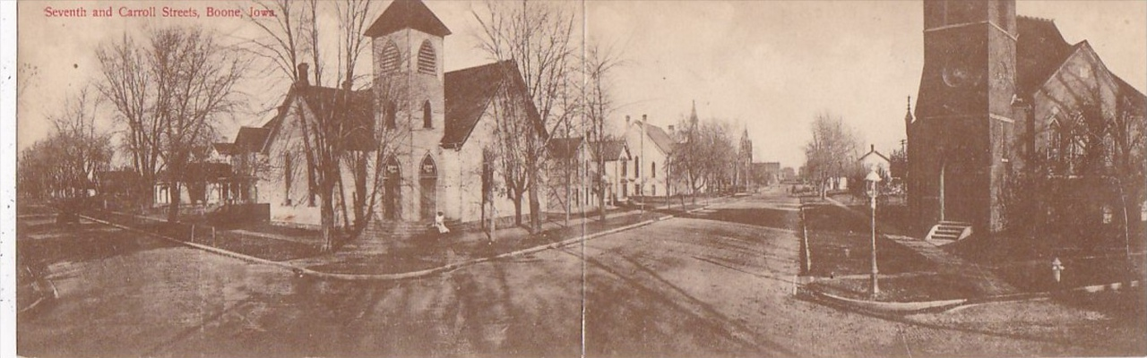 Seventh and Carroll Streets, Boone, Iowa - Original