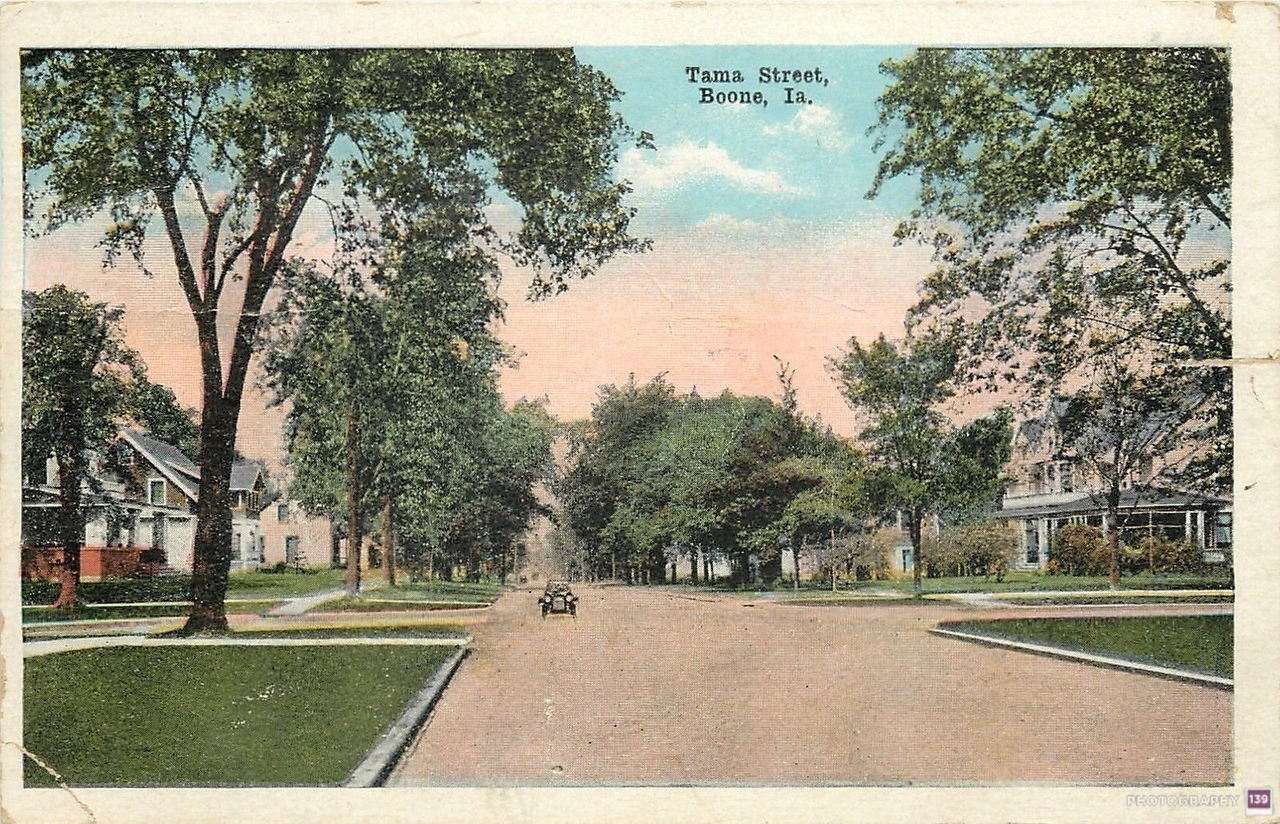 Tama Street, Boone, Ia Original