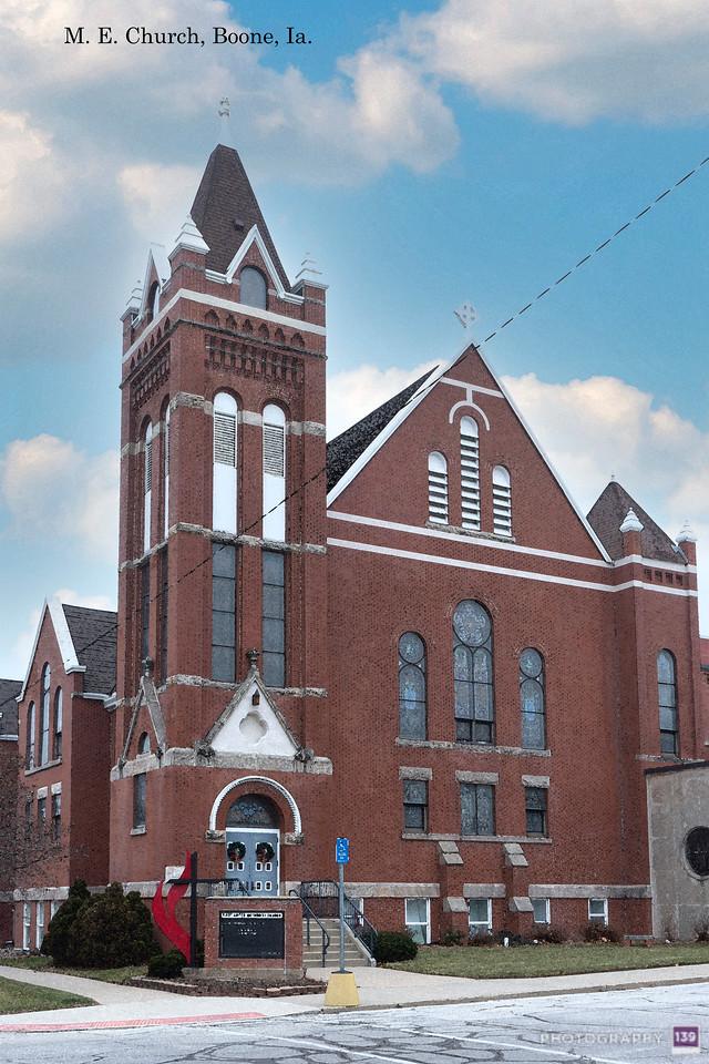 M. E. Church, Boone, Ia. - Redux
