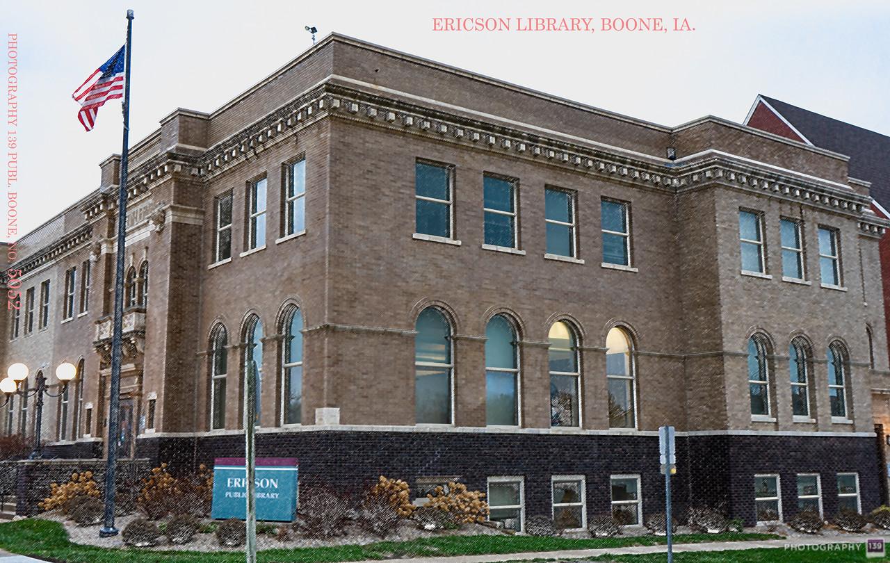 Ericson Library, Boone, IA. - Redux
