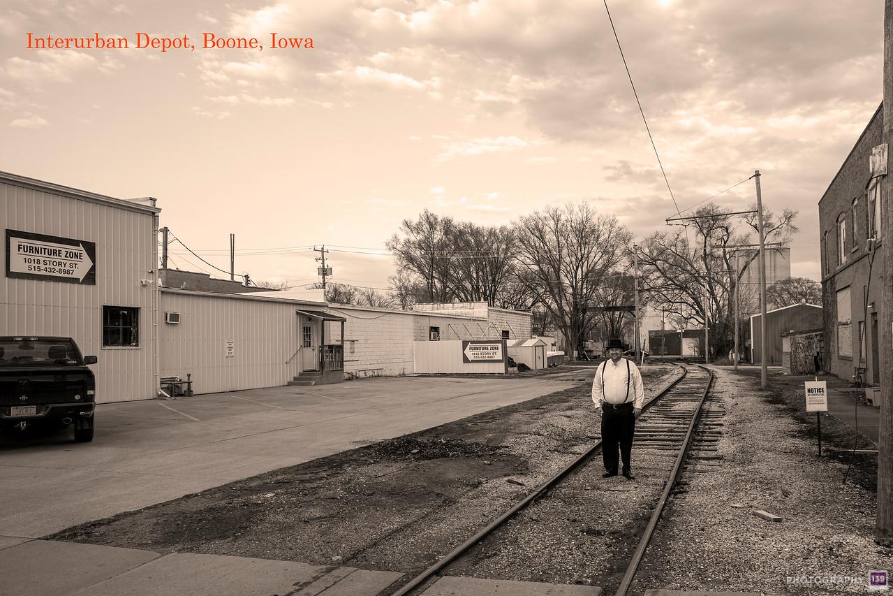 Interurban Depot, Boone, Iowa - Redux