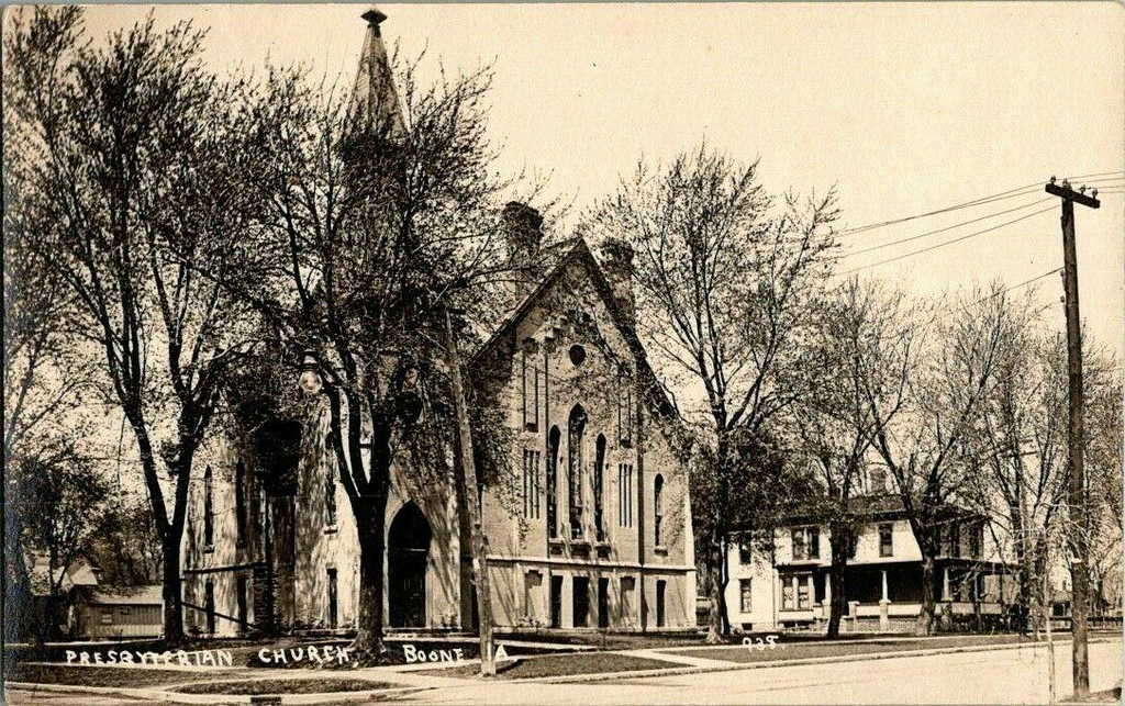 Presbyterian Church - Boone IA - 938 - Original