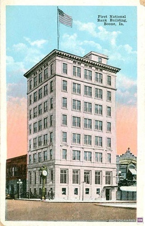 First National Bank Building - Boone, Ia - Original