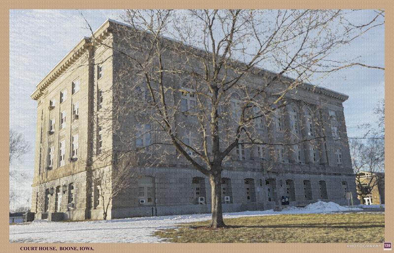 Court House, Boone, Iowa - Redux