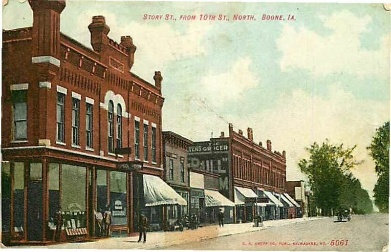 Story St. from 10th St. North, Boone, IA - Original