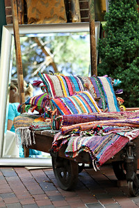 Woven Rugs and Pillows