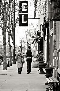 Walking in Old Town