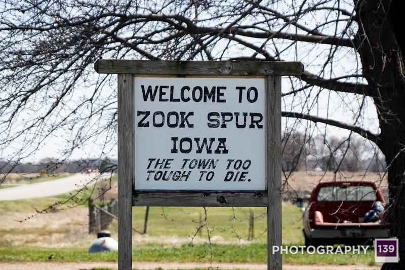 Zook Spur, Iowa
