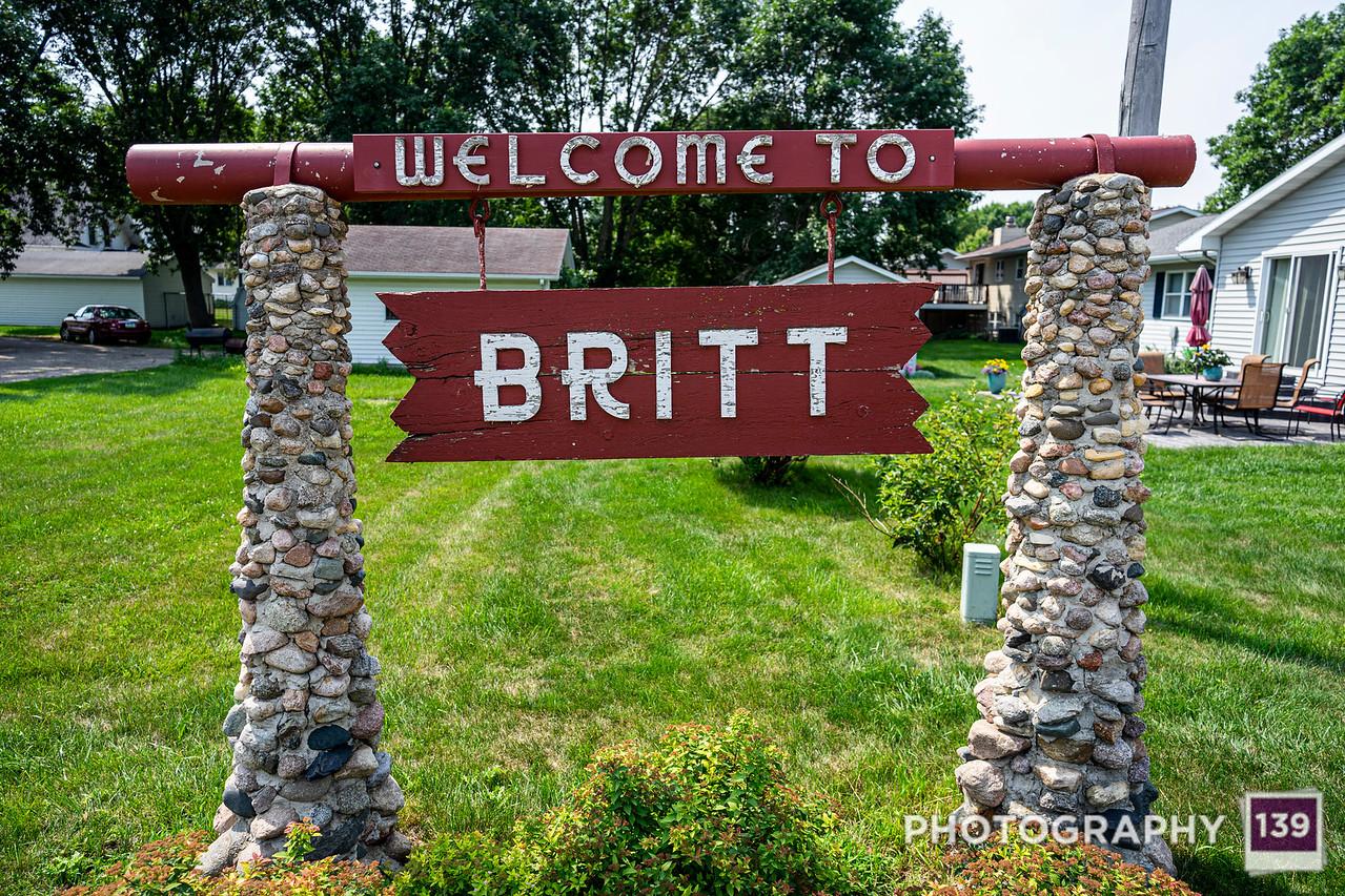Britt, Iowa