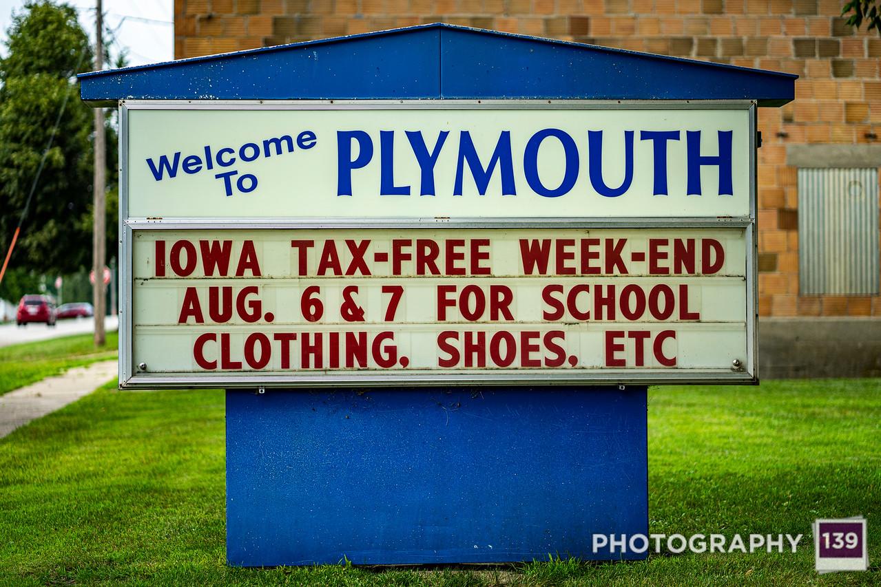 Plymouth, Iowa