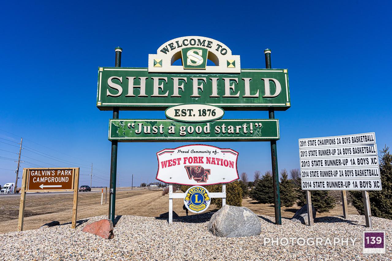 Sheffield, Iowa