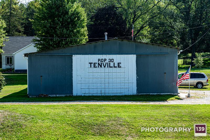 Tenville, Iowa - Unincorporated