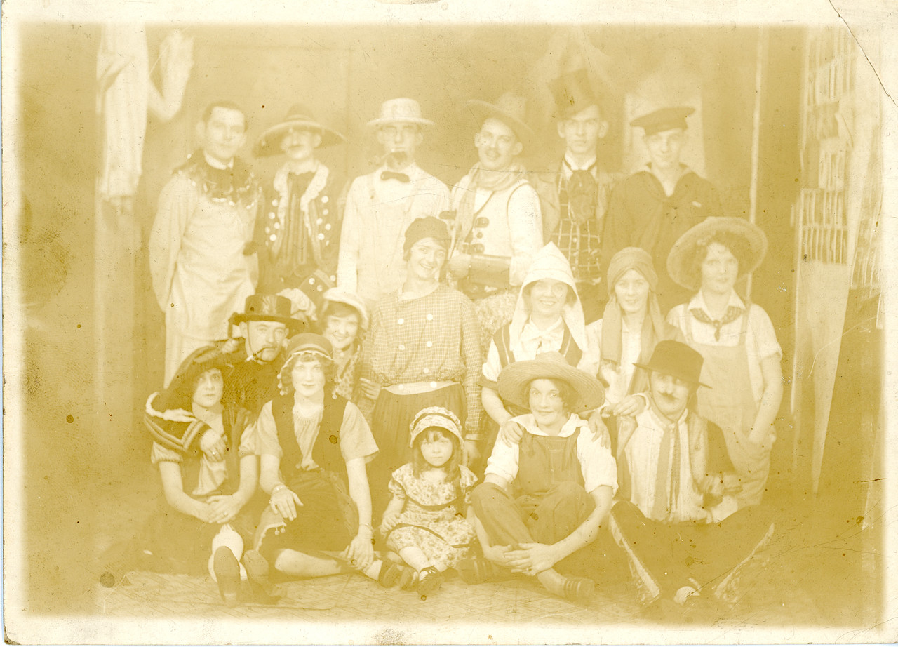 Pop and Friends in the 1920s - Before Restoration