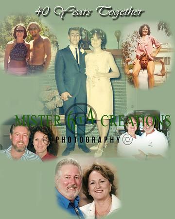 40th Anniversary - Original Wedding Photo