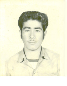 Before Restoring My Dads Picture!