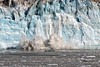 Hubbard Glacier calving ~ Sheets of ice continually coming down ~  Alaska