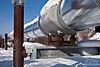 Trans Alaska Pipeline ~ Fox outside Fairbanks, Alaska