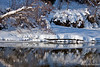 Snowy Reflections ~ Chena River ~ Fairbanks, Alaska