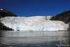 Glacier in Perspective with boat ~ Kenai Fjords National Park, Seward, Alaska