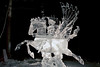 Single Block Ice Carving ~ World Ice Carving Championship ~ Fairbanks, Alaska