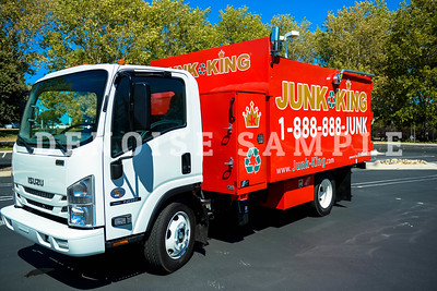 4847 Junk King Red Trucks