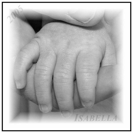 A mother holds her child's hand for a little while but holds their heart forever!