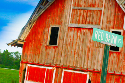 Photo Set - Red Barns