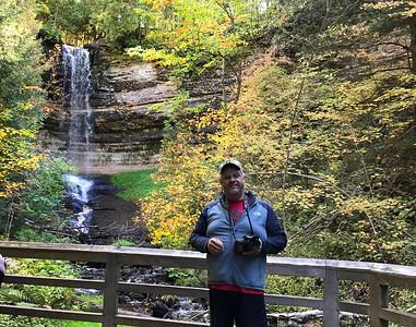 Me at Munising Falls