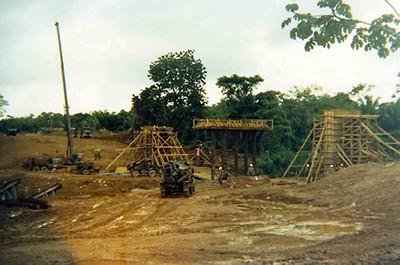 Bridge site, Belize