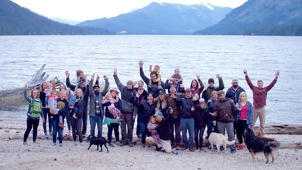 2016 Lake Wanatchee Camping