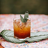 Penny's Pennicilin<br /> Añejo tequila, pressed lemon, honey, fresh ginger, ancho chile, Tajin salt, sage