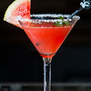 Sandia Sour. Tequila, watermelon-jalapeno mash, pressed citrus, fresh mint, agave nectar, sweet and sour salt