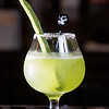 Nopal Margarita. Tequila, cactus paddle, pressed lime, agave nectar, sea salt, green