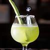 Nopal Margarita. Tequila, cactus paddle, pressed lime, agave nectar, sea salt