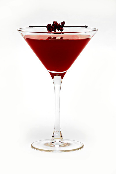 "Speeding Bullet<br /> Ron Zacapa rum, crushed cherry, clove, pressed lime<br /> Designed by Snake Oil Cocktail Company ( <a href=""http://www.snakeoilcocktail.com"">http://www.snakeoilcocktail.com</a>)"