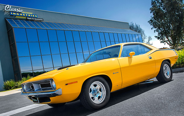 1970 Cuda Yellow