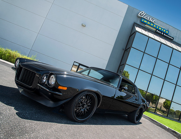 1970 Camaro Blacked Out