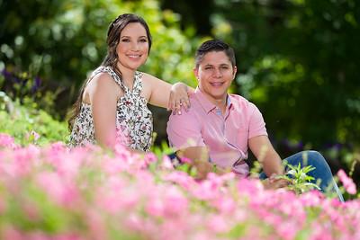 El compromiso de Ericka y Glenn