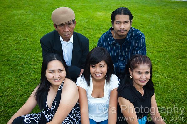 Baldos Family Portraits