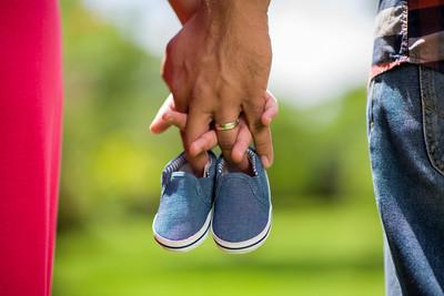 Sesión de Embarazo en Hotel Bougainvillea.