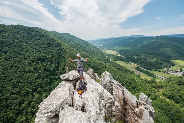 Seneca Rocks West Virginia_photos by Gabe DeWitt_July 13, 2014-103