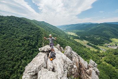 Seneca Rocks West Virginia_photos by Gabe DeWitt_July 13, 2014-103