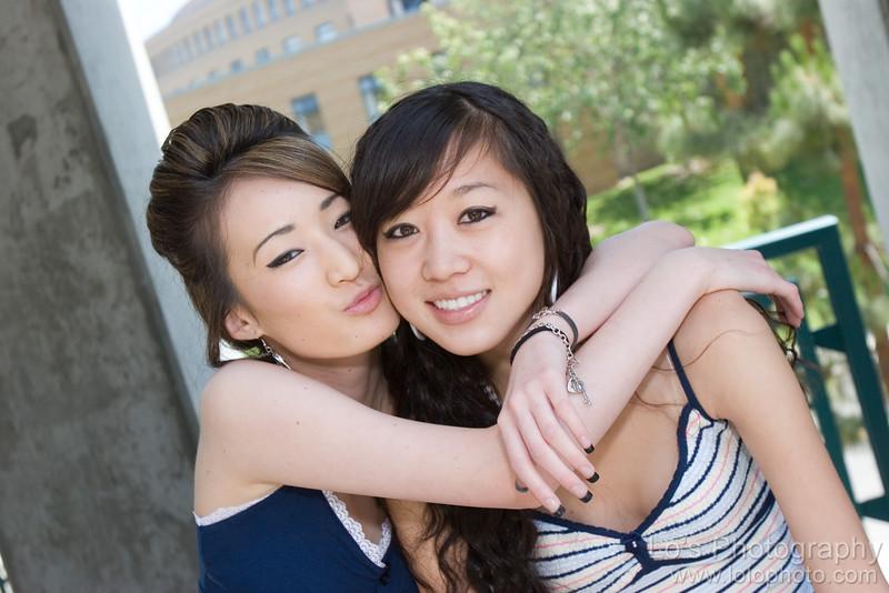 Jenn & Jennie's Photo Shoot